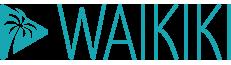 Logo Waikiki bleu