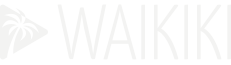 Logo Waikiki blanc
