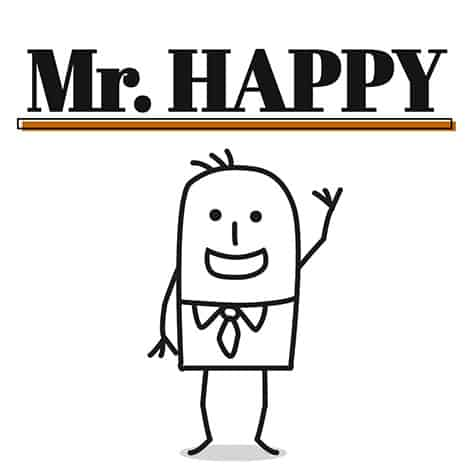 image Mr Happy (version française)